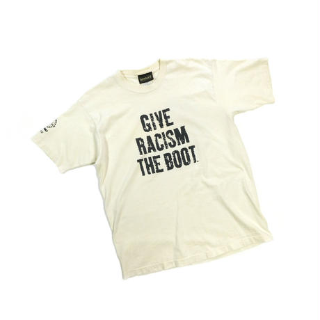 "USED ""TIMERLAND / GIVE RACISM THE BOOT"" T-shirt"