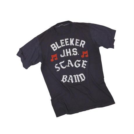 """BLEEKER  J.H.S TAGE BAND"" VINTAGE T shirt"