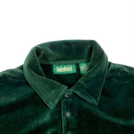"USED ""GREAT NORTHWEST"" VELOUR POLO"