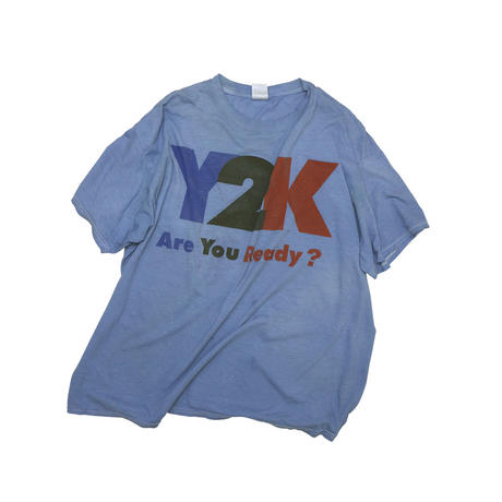 """Y2K"" USED T-shirt"
