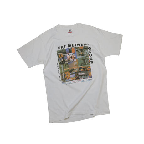 "PAT  METHENY  GROUP ""1989 TOUR"" USED T-shirt"