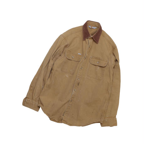 "USED ""CARHARTT"" COTTON DUCK SHIRT"