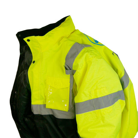 "USED ""TTI"" REFLECTOR DOWN JACKET"