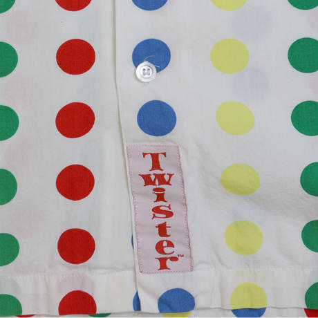 TWISTER GAME OFFICIAL SHORT SLEEVE SHIRTS