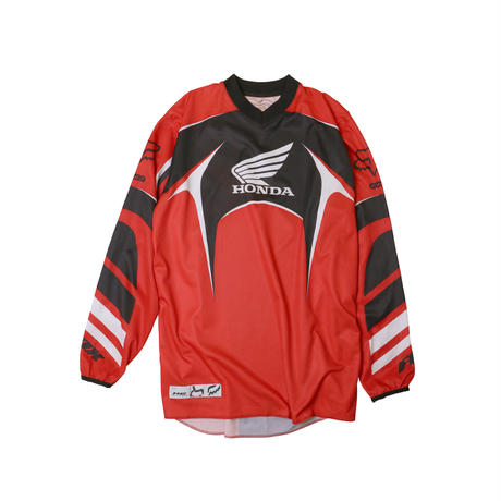 "FOX RACING ""HONDA"" USED L/S JERSEY"