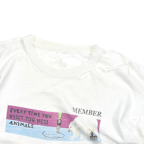 "USED ""DENVER ZOO"" T-shirt"