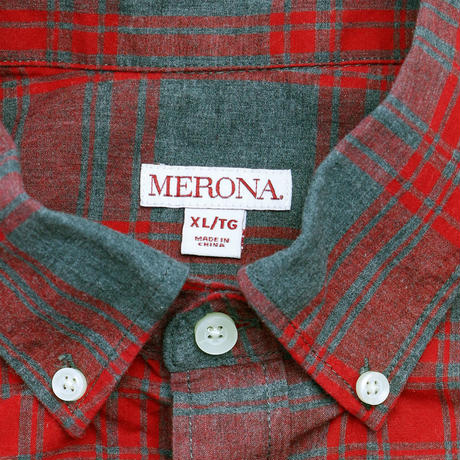 MERONA PLAID L/S SHIRT