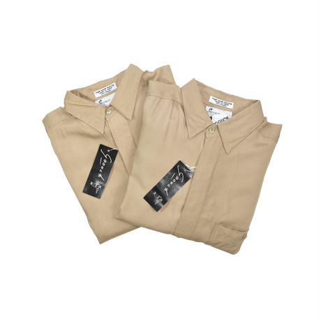 """NOS """"GOOUCH"""" RAYON L/S SHIRT"""