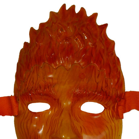 USED PLASTIC MASK