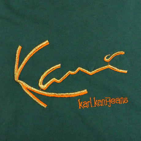90'S KARL KANI JEANS HOODED S/S Tshirt
