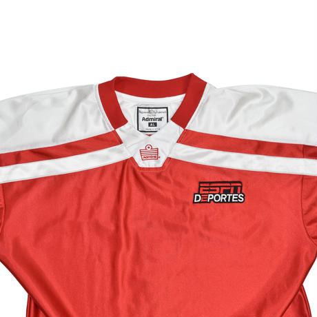 "USED ""ESPN DEPORTES"" FOOTBALL SHIRT"