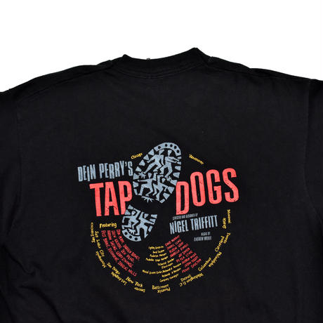 "USED ""TAP DOGS"" T-shirt"