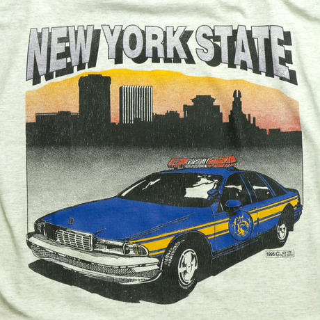 1995 NEW YORK STATE POLICE SUPPLY T-shirt