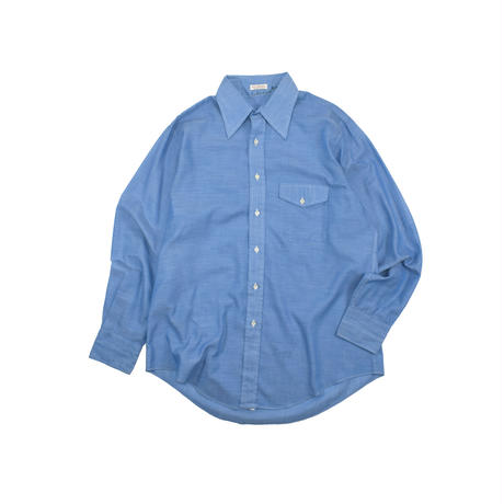 USED 70'S UNKNOWN CHAMBRAY SHIRT