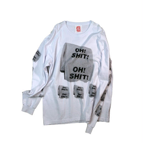 """OH SHIT"" L/S T-shirt"