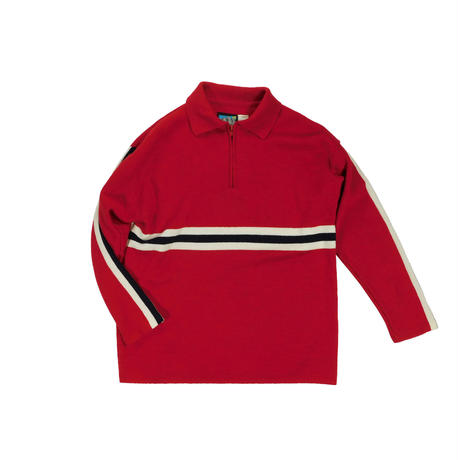 USED HALF ZIP KNIT