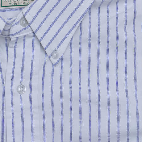 80'S L.L.BEAN STRIPE BD L/S SHIRT