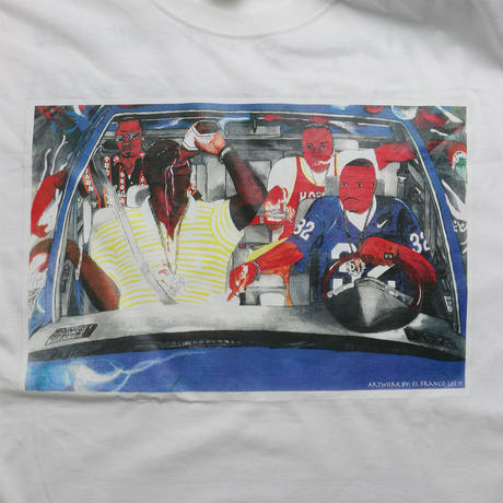 """DJ SCREW / RIDIN' DIRTY"" T-shirt"