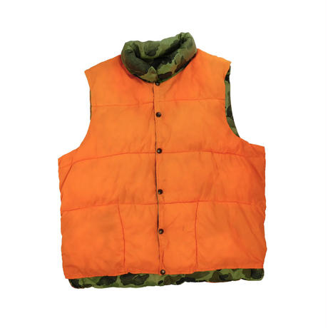 "USED ""RED HEAD"" REVERSIBLE DOWN VEST"