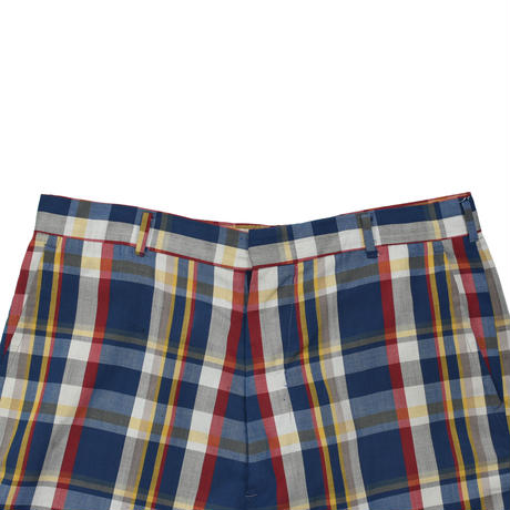 """USED 60-70'S""""GRANTS / PERMANENTLY PRESSED"""" CHECK SHORTS"""