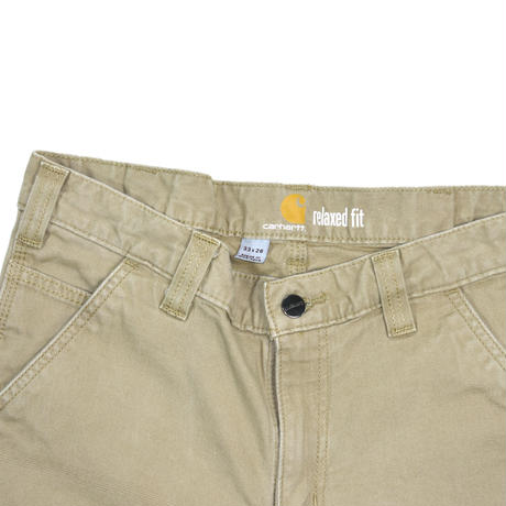 "USED ""CARHARTT / RELAXED FIT"" DUNGAREE PANTS"