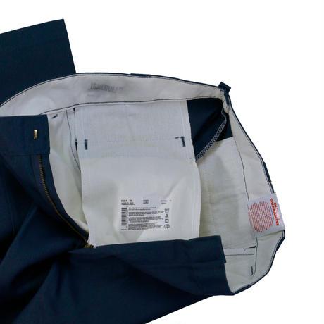90'S DICKIES 874 FLAT FRONT PANT  / NAVY / IRREGULAR