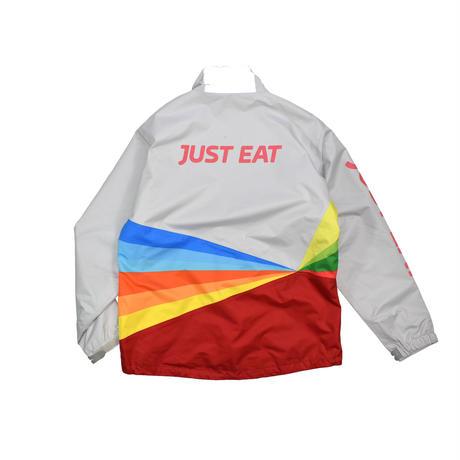 """USED """"JUST EAT"""" WATERPROOF JACKET"""