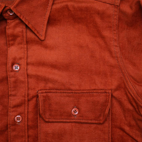 "VINTAGE ""WOOL RICH"" MOLE SKIN SHIRT"