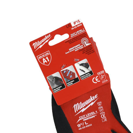 """MILWAUKEE"" CUT LEVEL 1 DIPPED GLOVES"