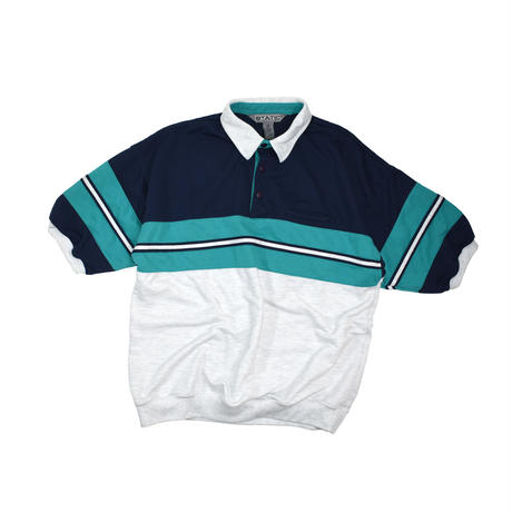"USED ""STATIC INTERNATIONAL"" POLO SHIRT"