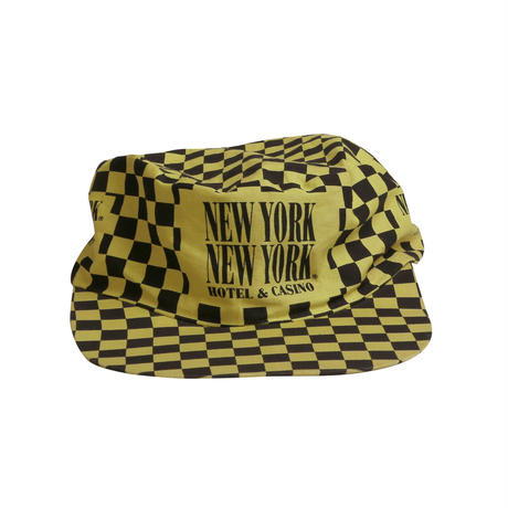 NEW YORK NEW YORK COTTON USED SNAP BACK CAP