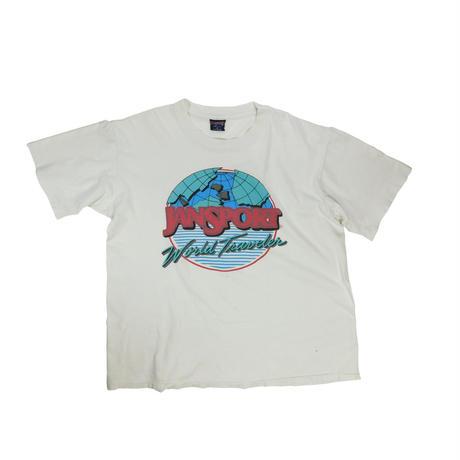 "USED ""JANSPORT WORLD TRAVELER"" T-shirt"