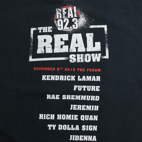 "USED ""THE REAL SHOW 2015"" T-shirt"