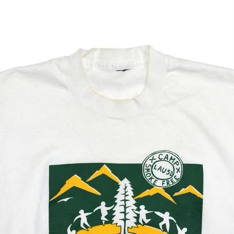 "USED ""SMOKE FREE CAMP"" T-shirt"