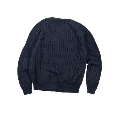 """USED 90'S """"BROOKS BROTHERS"""" COTTON KNIT"""