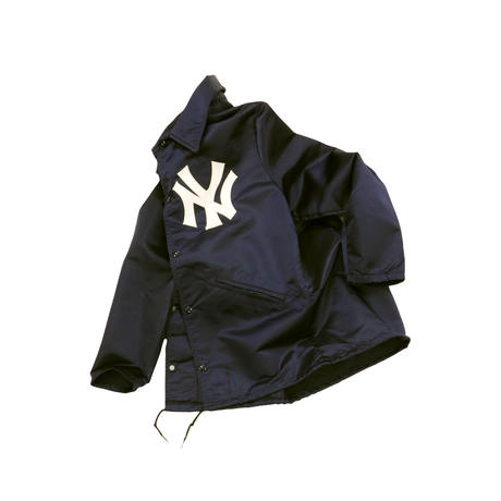 VINTAGE NEW YORK YANKEES COACH JACKET for WABC TALK RADIO 77
