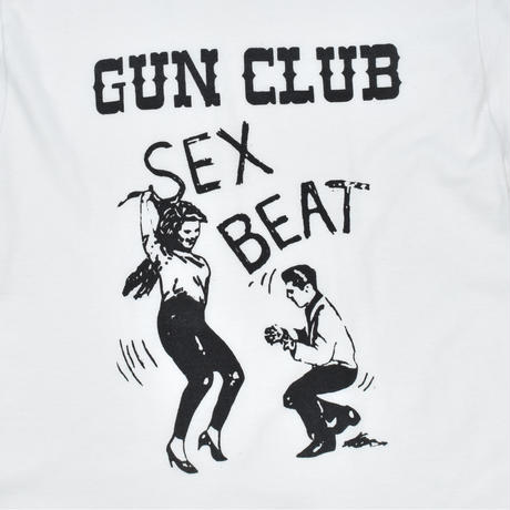 "USED ""THE GUN CLUB / SEX BEAT"" T-shirt"