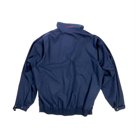 "USED ""POLO GOLF"" HALF ZIP NYLON JACKET"