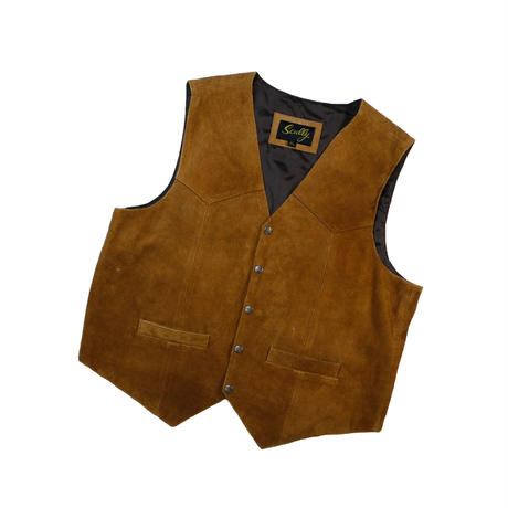 USED SUEDE LEATHER VEST