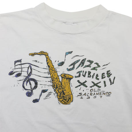"USED ""JAZZ JUBILEE XXII"" T-shirt"