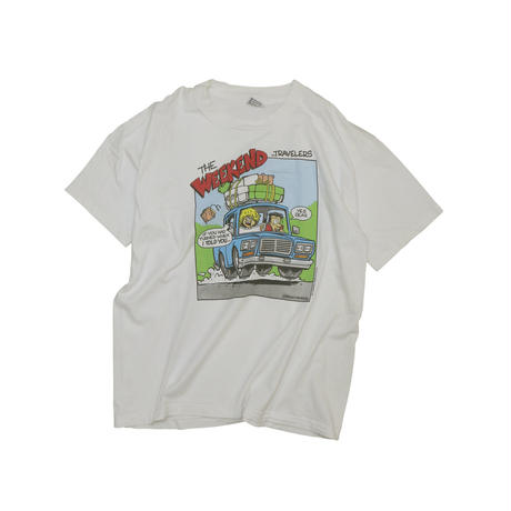 """""""THE WEEKEND TRAVELERS"""" USED T-shirt"""