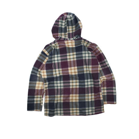 "USED ""ITALIAN CLUB"" FLANNEL PULLOVER"