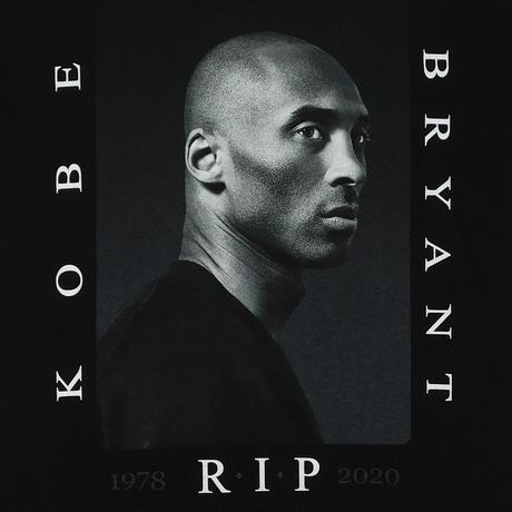 """""""KOBE BRYANT / R.I.P BLACK MAMBA"""" T-shirt"""