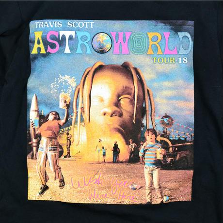 "USED ""TRAVIS SCOTT / ASTROWOLD TOUR"" L/S SHIRT"