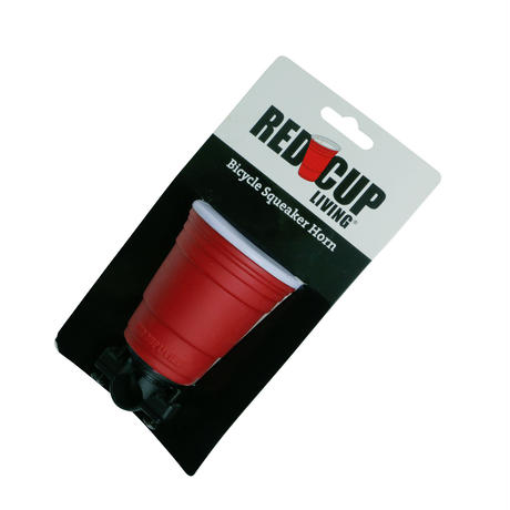 RED CUP BICYCLE HORN