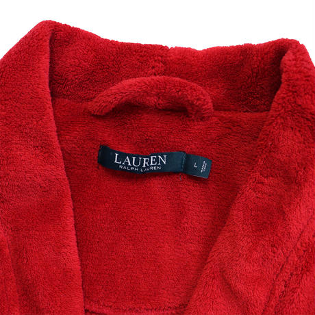 "USED ""LAUREN RALPH LAUREN"" BATHROBE"