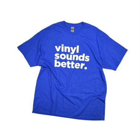 "USED ""VINYL SOUNDS BETTER."" T-shirt"
