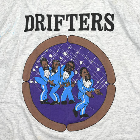 """USED """"THE DRIFTERS"""" TOUR T-shirt"""