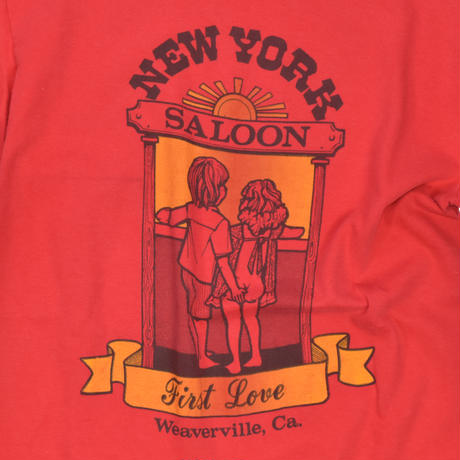 "USED ""NEW YORK SALOON"" T-shirt"
