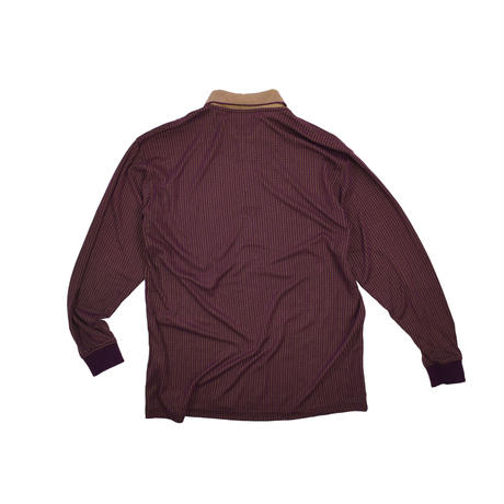 """USED """"BOLLE GOLF"""" L/S POLO SHIRT"""
